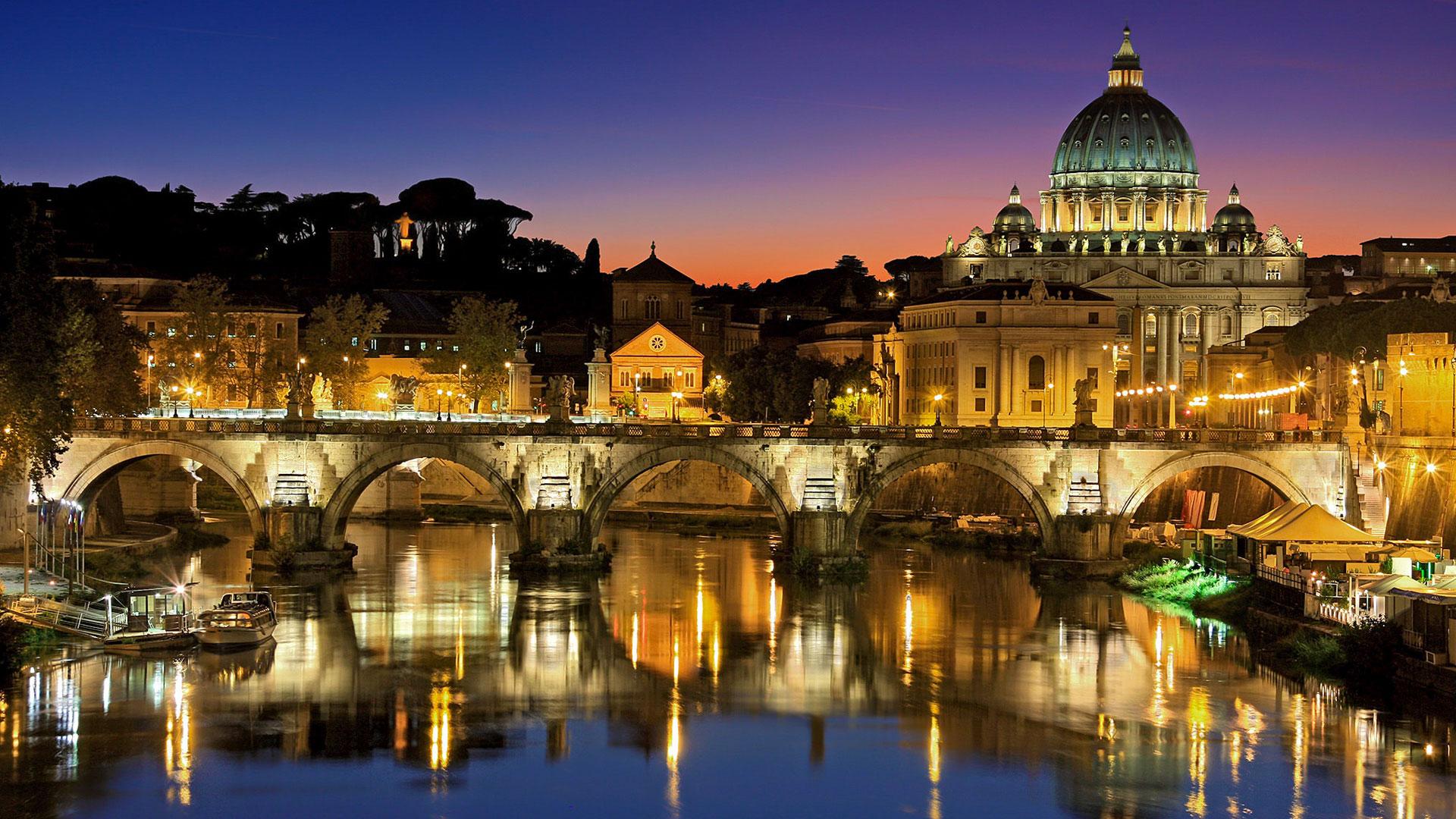 esperienza Roma - Tevere e Basilica di San Pietro